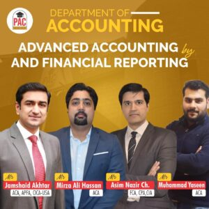 ADVANCED ACCOUNTING & FINANCIAL REPORTING